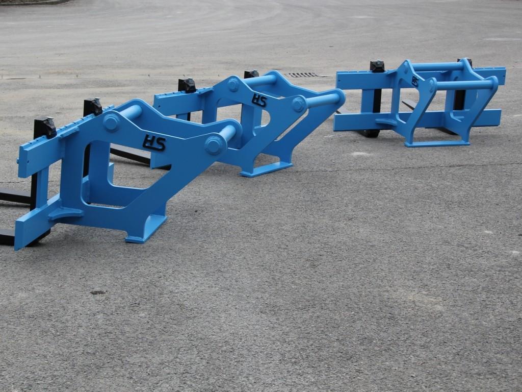 Forklift carriage wheel loader