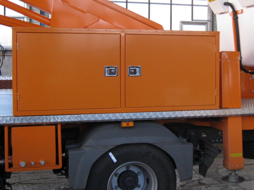 Tool trailer or a specially designed trailer