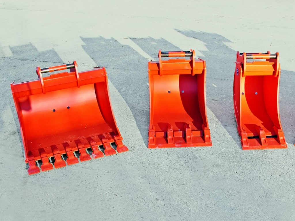 Buckets for Hydraulic Excavators