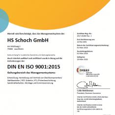 Din En ISO9001 2015