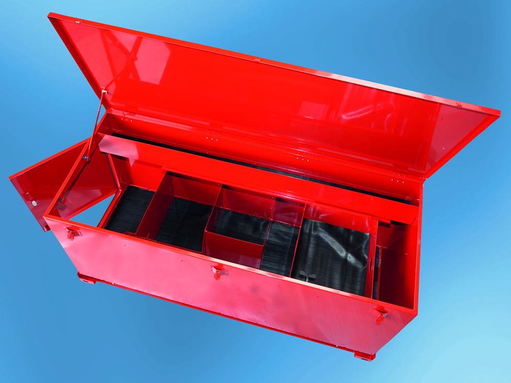 Lkw-Zubehör, Palettenstaukasten, Rungenbox, HS-Box,