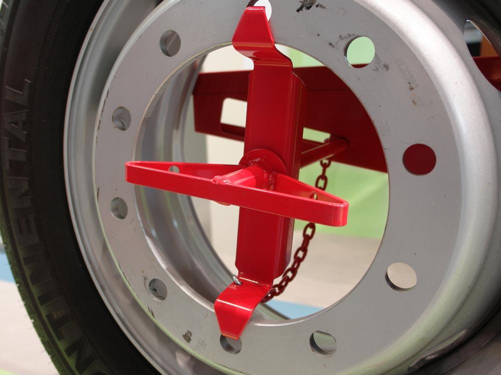 Ersatzradkorb EK1000 Radfixierung