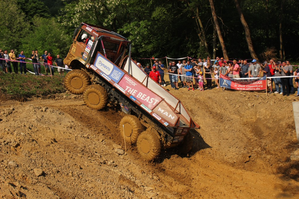 Truck Trial Lauf 1: Rakov Potok Kroatien