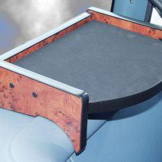 DAF CF LKW-Tisch rechts Wurzelholzdekor