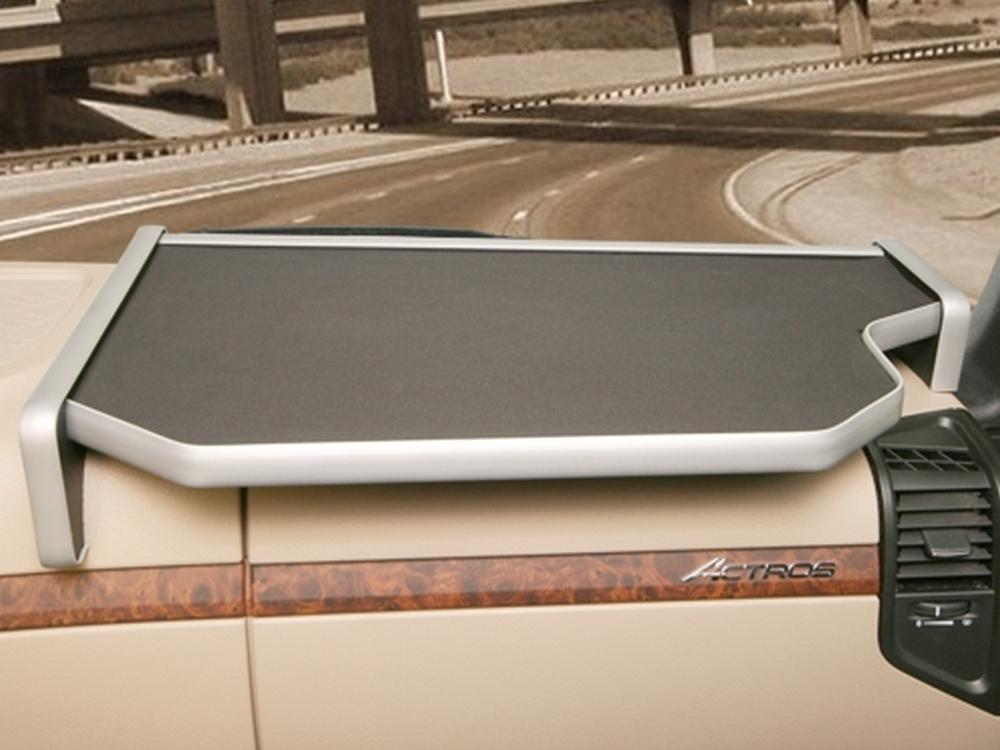 Ablagetisch LKW Ablage rechts für Mercedes Benz Actros MP4 2011, schwarz