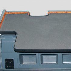 Ablagetisch LKW-Tisch MAN TGA-OBU-Ausschnitt wurzelholzdesign