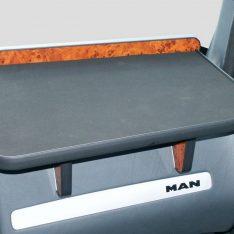 Ablagetisch LKW-Tisch MAN TGA rechts Beifahrer wurzelholzdesign