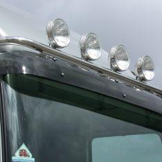 Scheinwerfwerbuegel Mercedes-Benz Atego Axor Topbuegel Flachdach