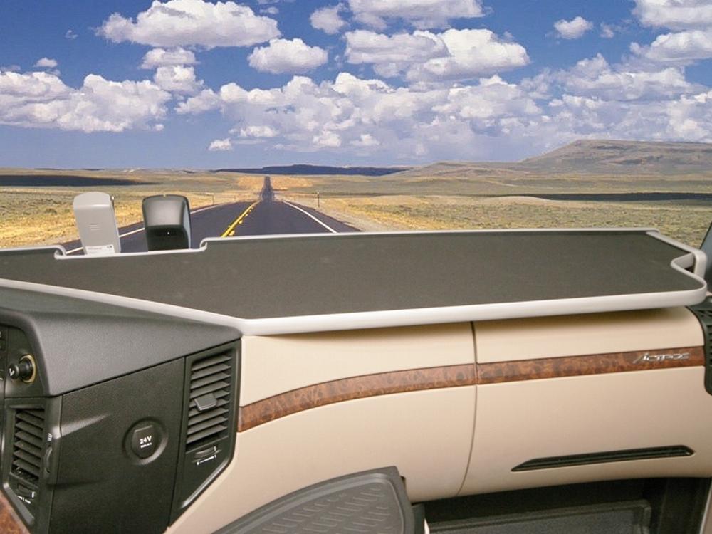 Ablagetisch LKW Ablage XXL für Mercedes Benz Actros MP4 2011, schwarz
