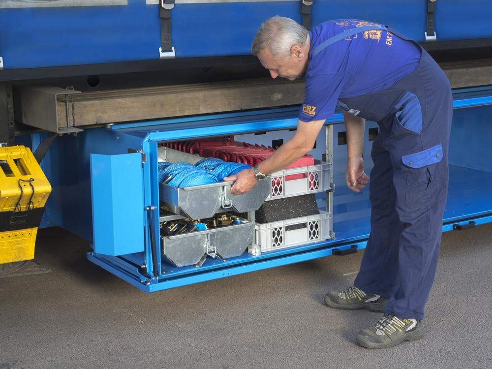 LadeBox Ladungssicherung PK3000 Palettenkasten