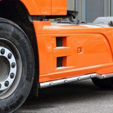 Seitenschutzrohre Sidebars Seitenschwellerrohrer DAF XF Euro 6