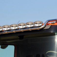 Volvo FH 2013 Euro6 Scheinwerferbügel Flachdach Dachlampenbügel Topbügel