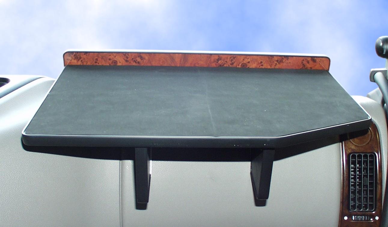 Ablagetisch für DAF XF EURO 6, schwarz, Beifahrer
