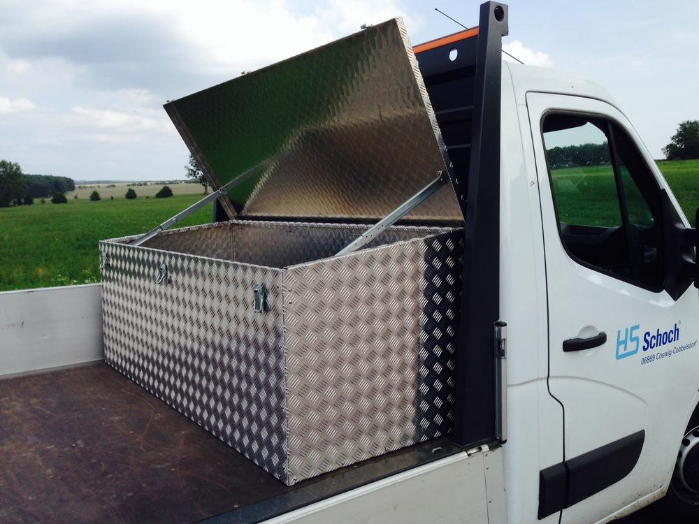 Pritschenkasten aus Aluminium HS-BOX-light