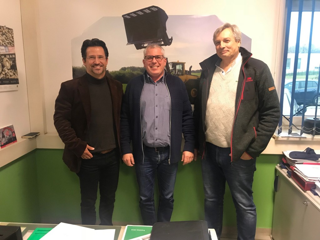 v.l.n.r Carsten-Michael Obrecht, Stephan Fundel, Thomas Lang