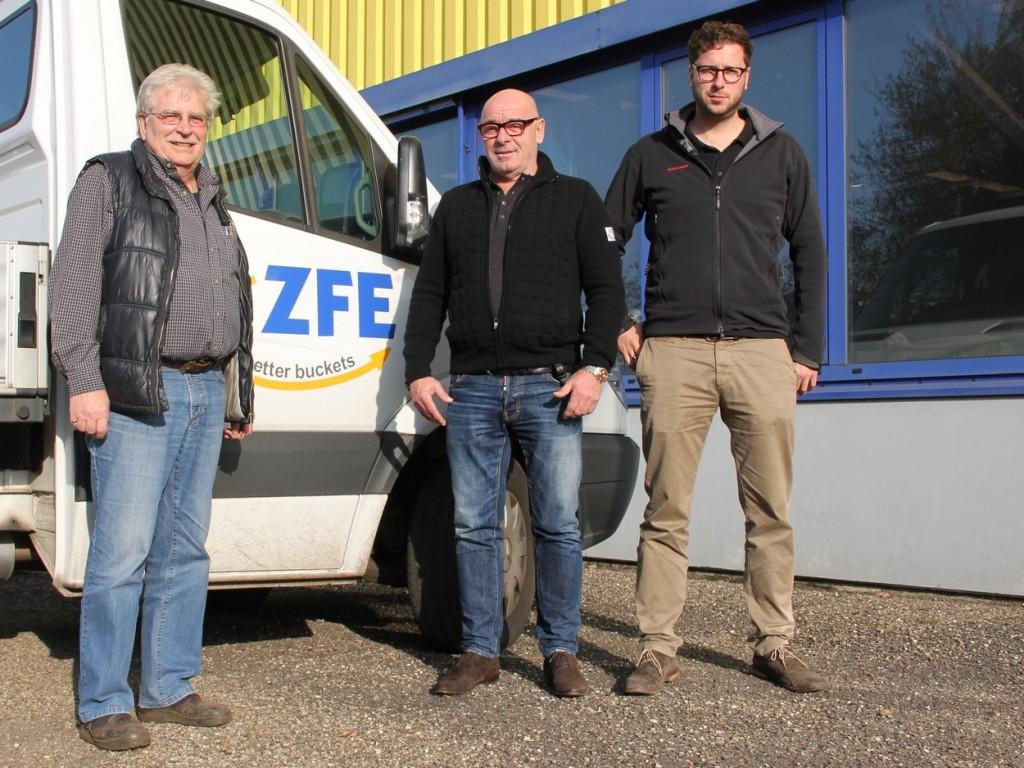 v.l. Lothar Fianke, Hermann Schoch, Marcel Schoch